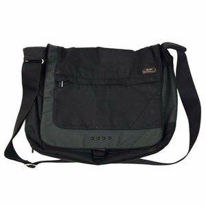 Tumi Unisex Expandable Messenger Bag Black